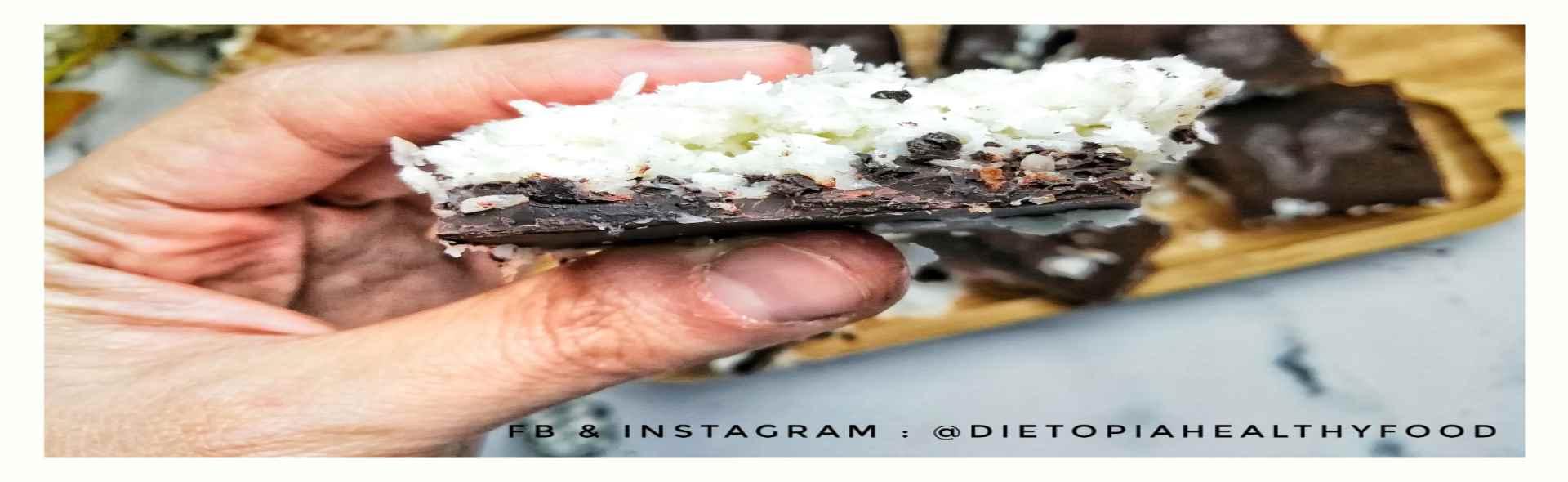 جوز الهند باونتي على حد سواء الشوكولاته البارات 5 خطوات مع صور 2021
